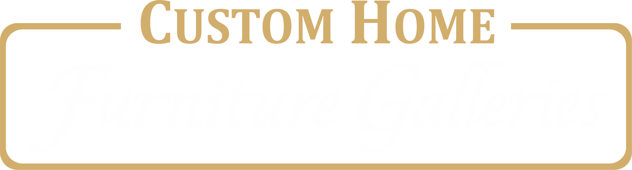 Custom Home Furniture Galleries Logo